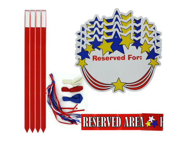 Patriotic Parade Sign Kit