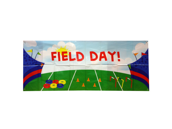 Personalized Field Day Banner