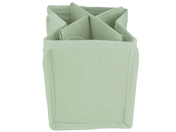 Canvas pen and pencil holder, 12 pack