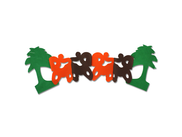 Palm Tree And Monkey Garland