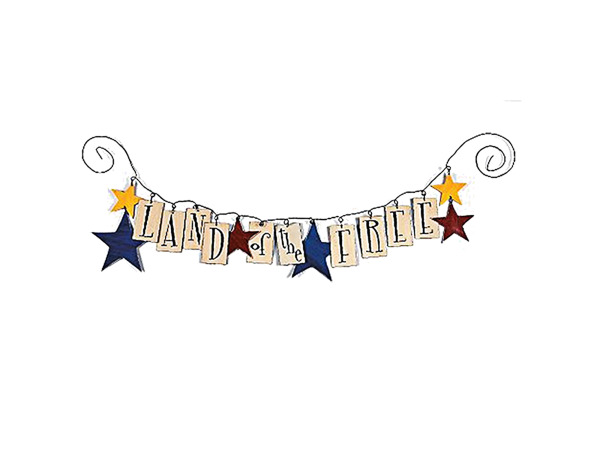 Patriotic Garland Craft Kit