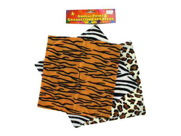 Animal Print Graduation Cap Covers