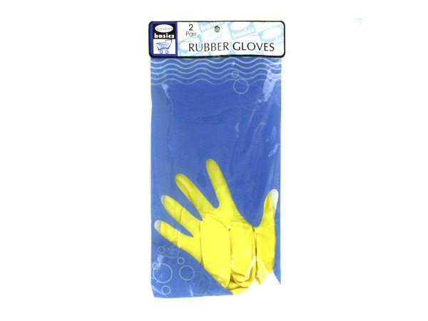 Rubber gloves, 2 pair
