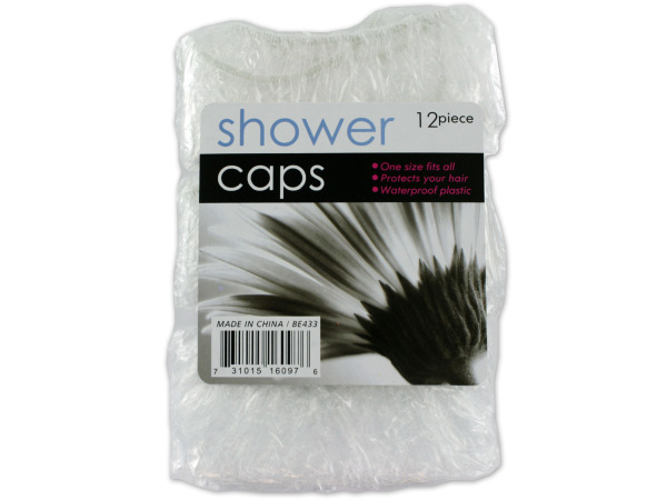 Shower cap value pack