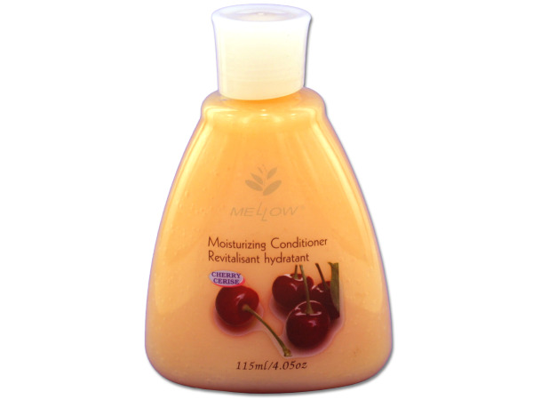 Travel size cherry scented conditioner