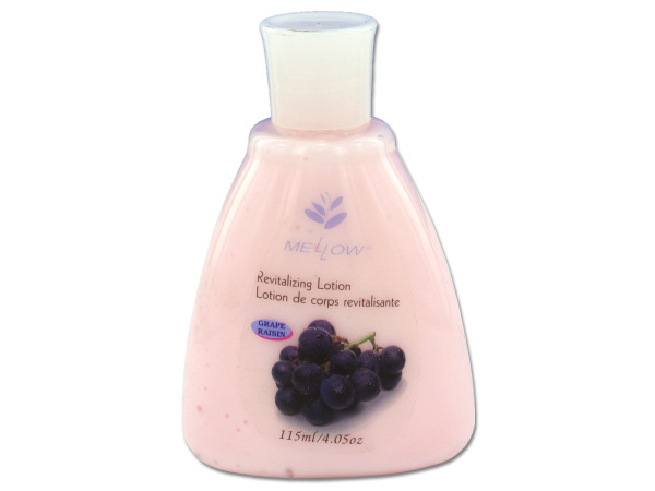 Trial size revitalizing lotion, grape scent