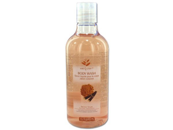 Brown sugar scented body wash