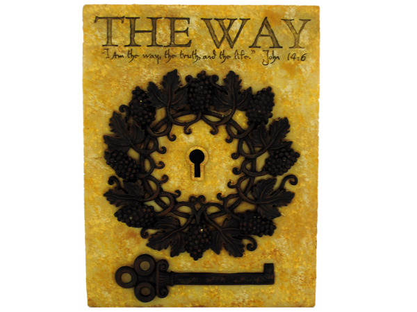 the way plaque