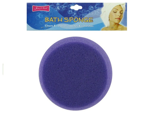 Bath sponge, assorted colors