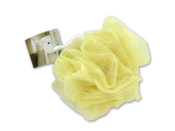 Mesh bath sponge scrubby, assorted colors