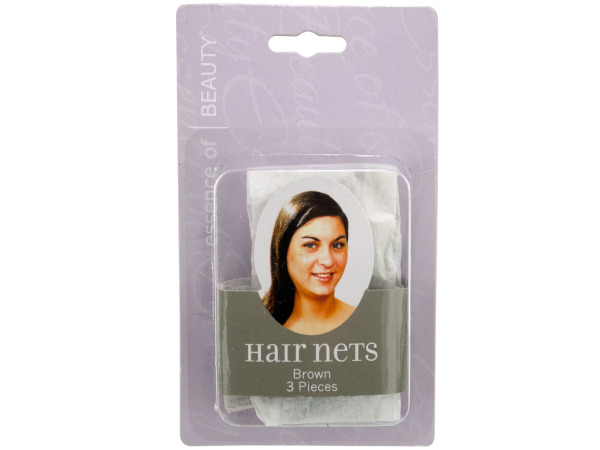 Brown Hair Net Set