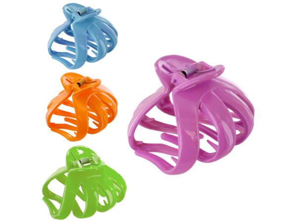 hair jaw clip large spring colors