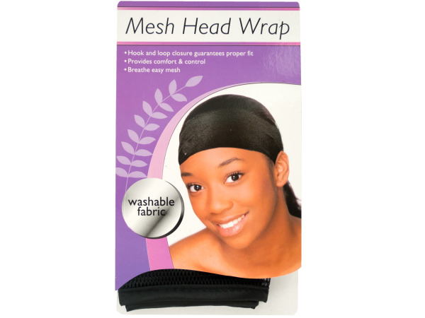 Mesh Headband With Comfort Trim
