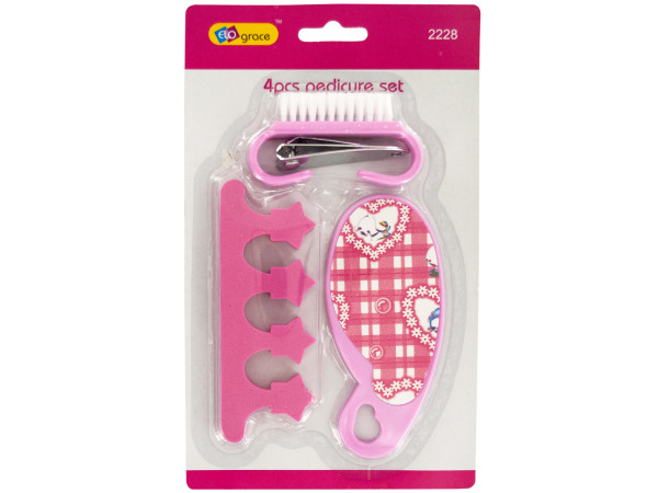 Basic Pink Pedicure Set