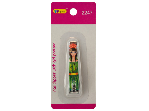 Nail Clipper with Girl Pattern