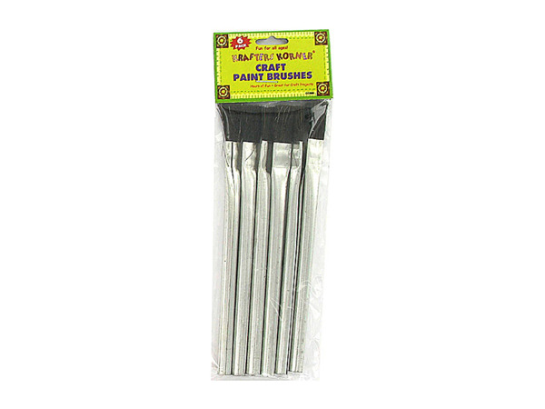 Craft painting brushes