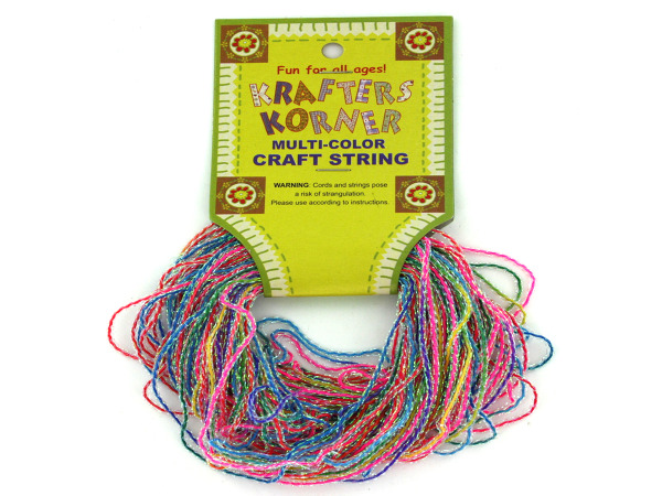 Glitter craft string