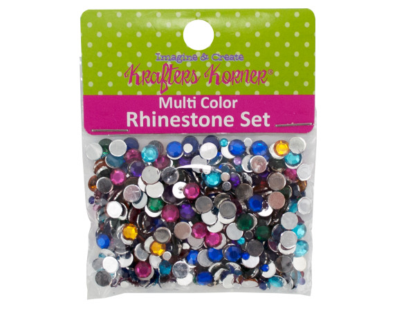 Multi-Color Rhinestone Set