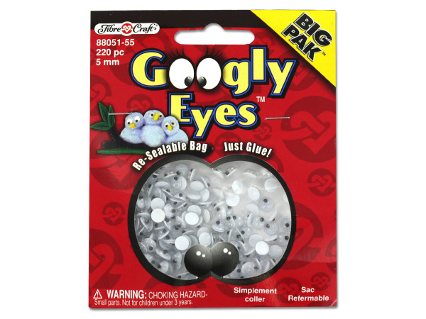 Wiggle eyes value pack