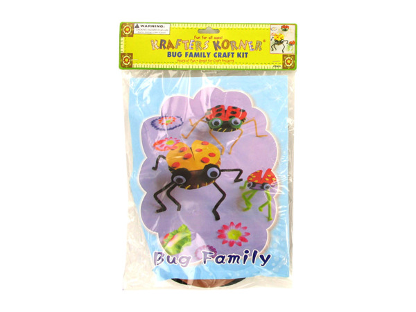 bug family craft kit