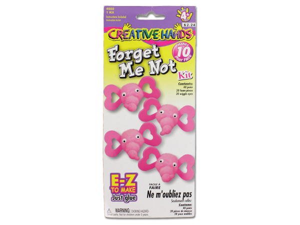 Valentine's day forget me not craft kit