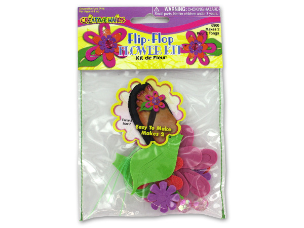 Flip flop design craft kit