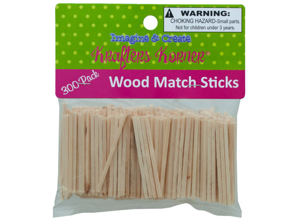 Wood Craft Matchsticks