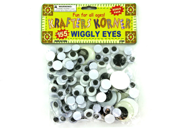 Craft wiggly eyes