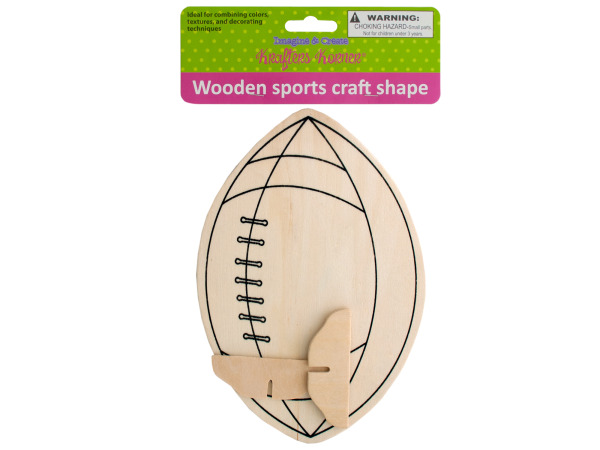 Wooden Sports Craft Shape