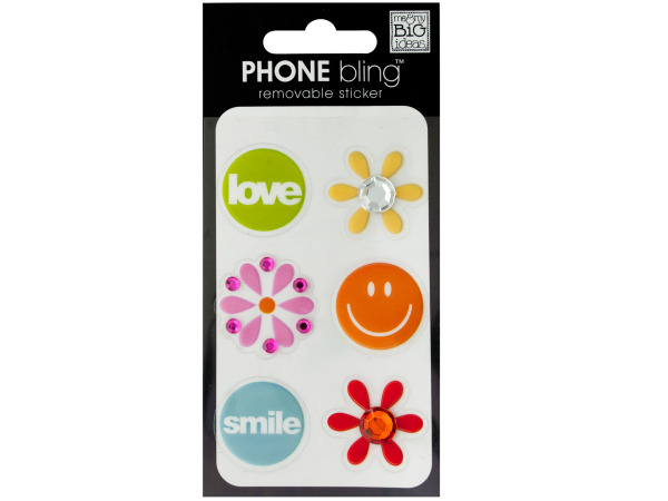 Summer of Love Phone Bling Removable Stickers