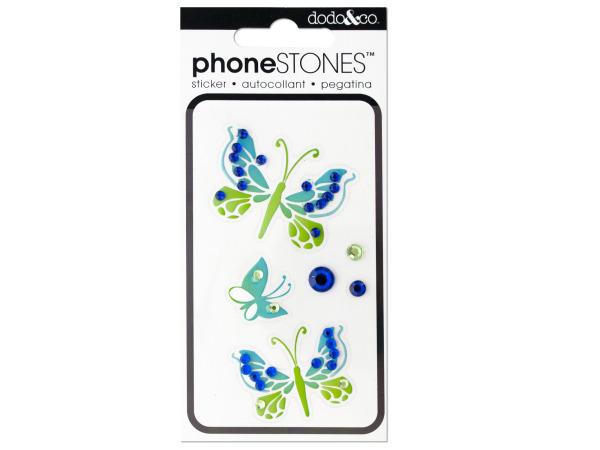 Butterfly Phone Stones Stickers