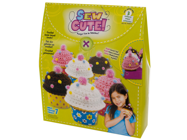 Sew Cute Cupcakes Crochet Kit