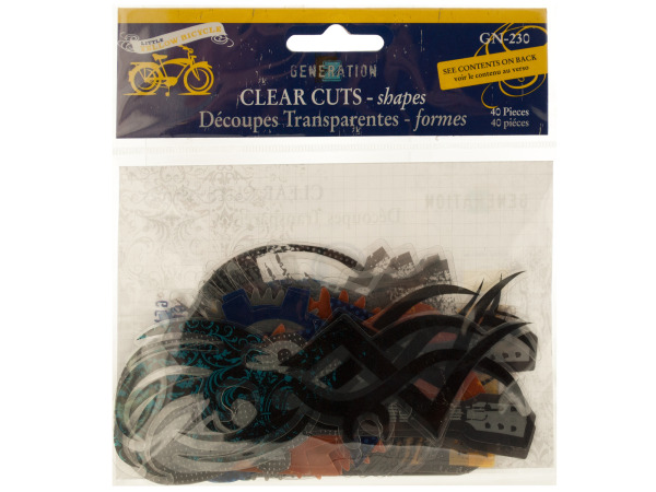 Clear Cuts Xtreme Generation Shapes
