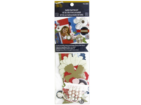 Sweet Flowers Paper Crafting Kit