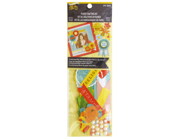 Lovely Flowers Paper Crafting Kit