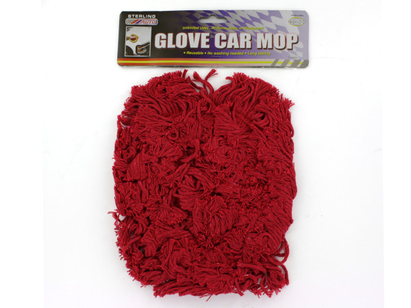 Glove car mop