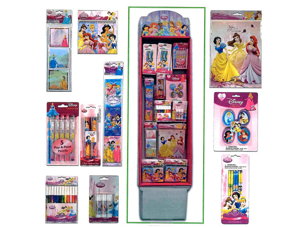 Disney Princess stationery and party items