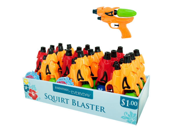 Squirt Blaster Water Gun Counter Top Display
