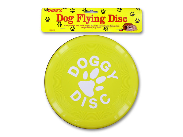 Dog flying disc