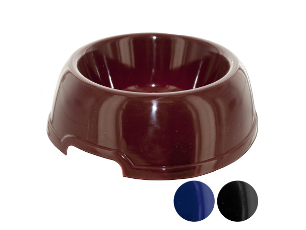 plastic pet bowl 3 asst colors