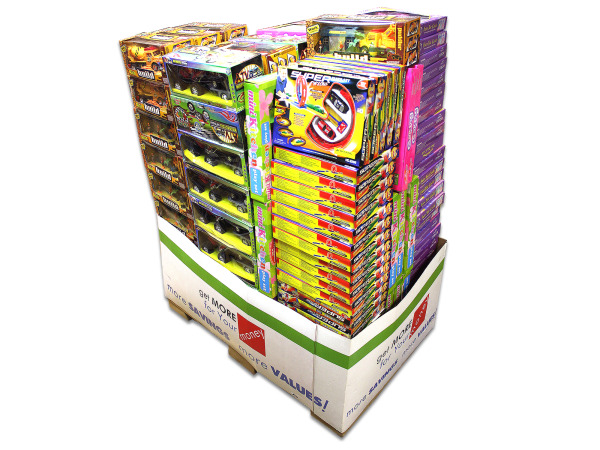 Mixed Toy Premium Pallet 144-Piece