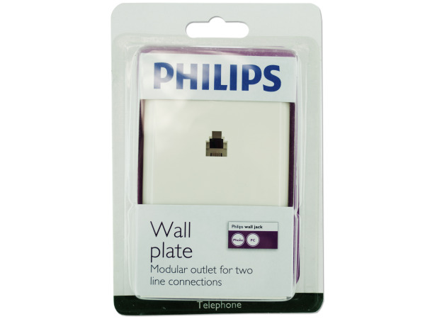 Philips Wall Plate for 2 lines