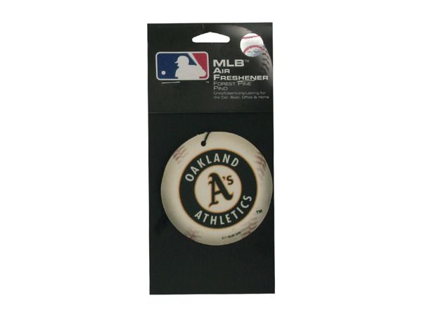 Oakland Athletics Baseball Pine Freshener