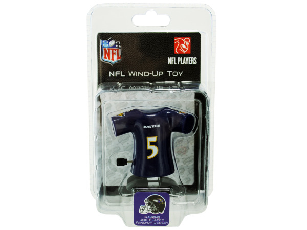 Baltimore Ravens Joe Flacco wind-up toy