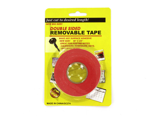 Double- sided tape
