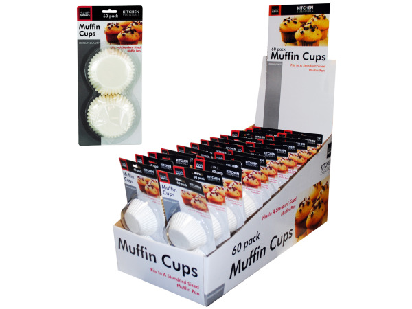Muffin Cup Liners Counter Top Display