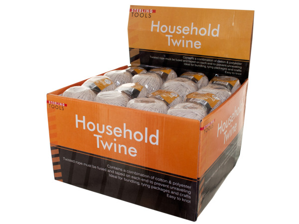 Household twine counter top display