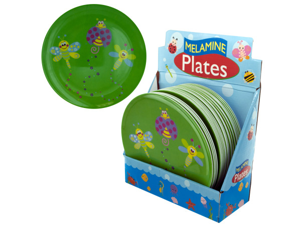 Kids melamine plate display