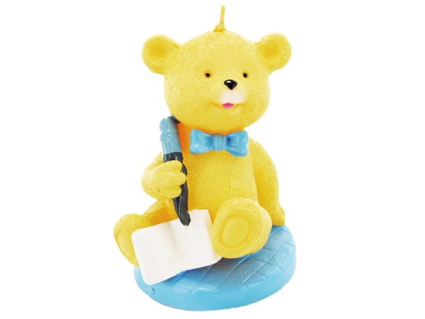 2.5 Inch x 3.5 Inch Baby Bear Candle