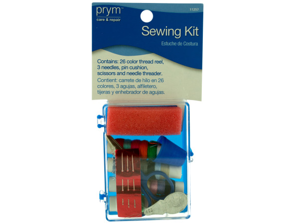 Sewing Kit With Case